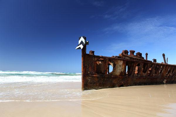 Fraser-Island-Shipwreck