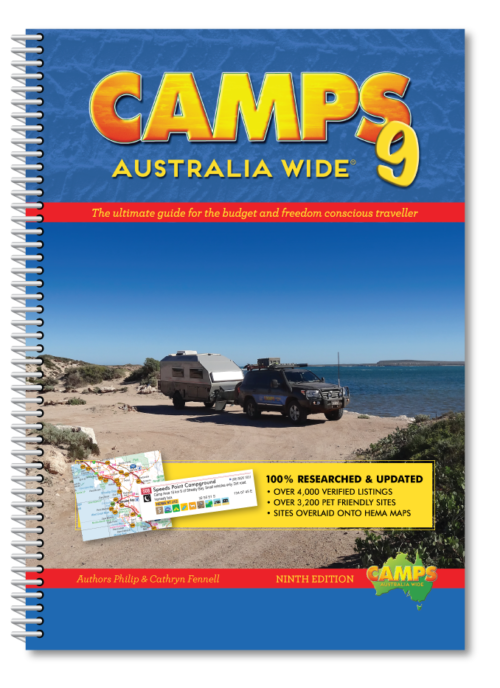 camps australia wide camping tourist park guide books and app. Black Bedroom Furniture Sets. Home Design Ideas