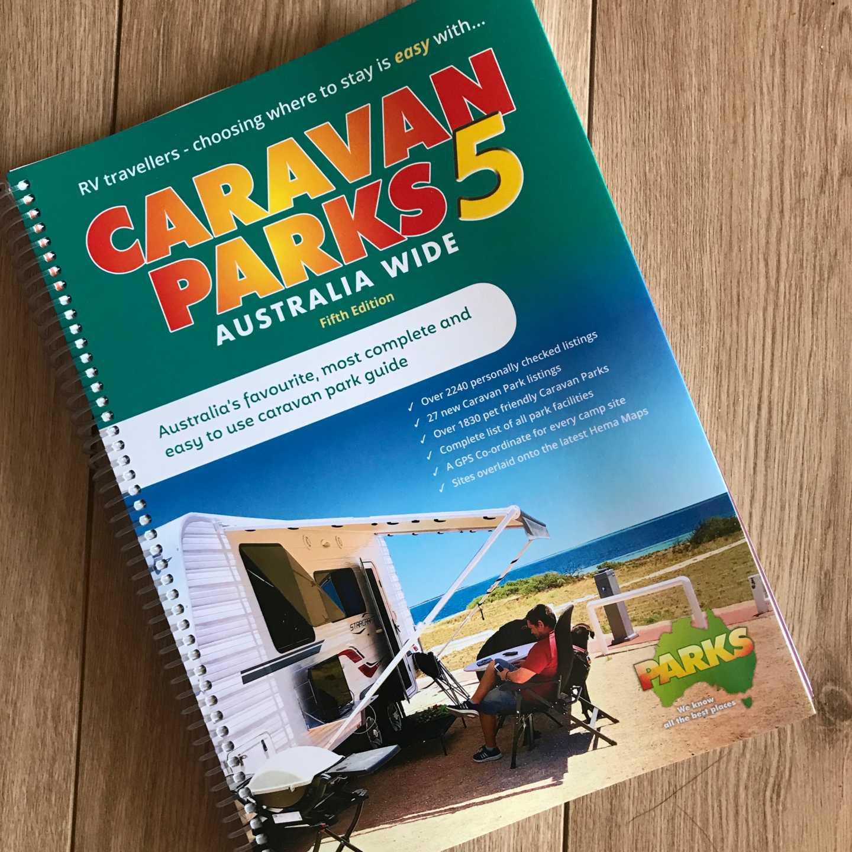 Pre-order your Caravan Parks Australia Wide 5 book Now    - Camps